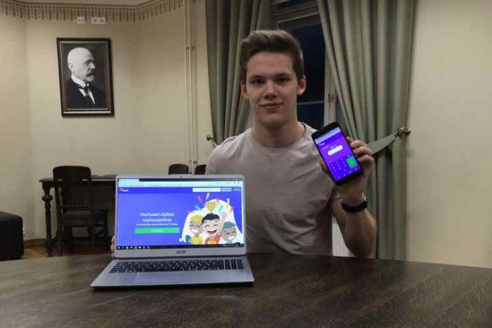 Estonian teen raises $500k for EdTech startup that created eSports style math games