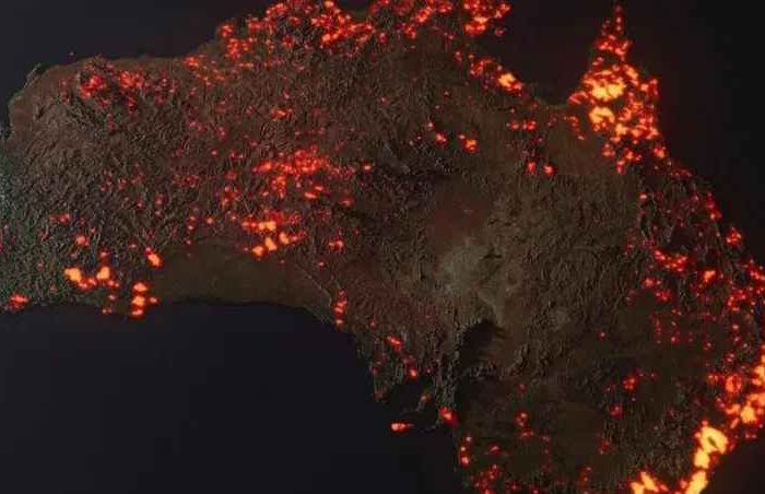 Australia's fires have pumped out 400 million metric tons of carbon dioxide, more emissions than 100 nations combined