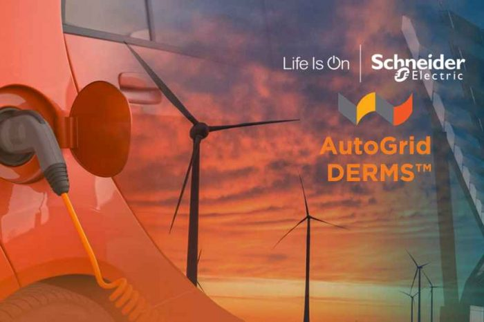 AutoGrid partners with Schneider Electric to help energy providers integrate ADMS and DERMS solution to digitize the electric grid of the future