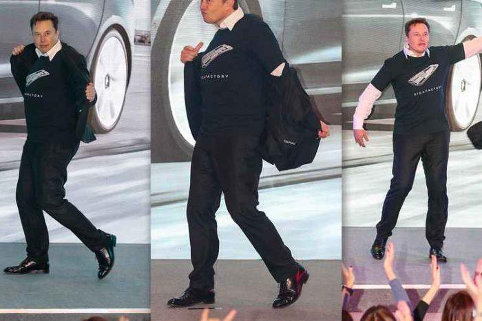 Watch Elon Musk dancing at Tesla's Gigafactory in China