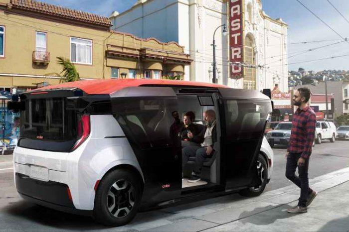 GM's Cruise unveils Origin driverless minivan, a Self-Driving Vehicle with No Steering Wheel or Pedals