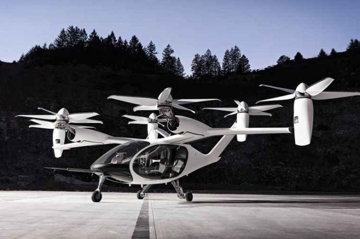 Toyota makes its first big bet on electric air taxis with $394M investment in all-electric flying car startup Joby Aviation