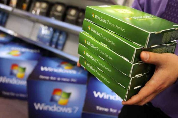 Microsoft will stop supporting millions of computers running Windows 7 today, Tuesday, January 14, 2020