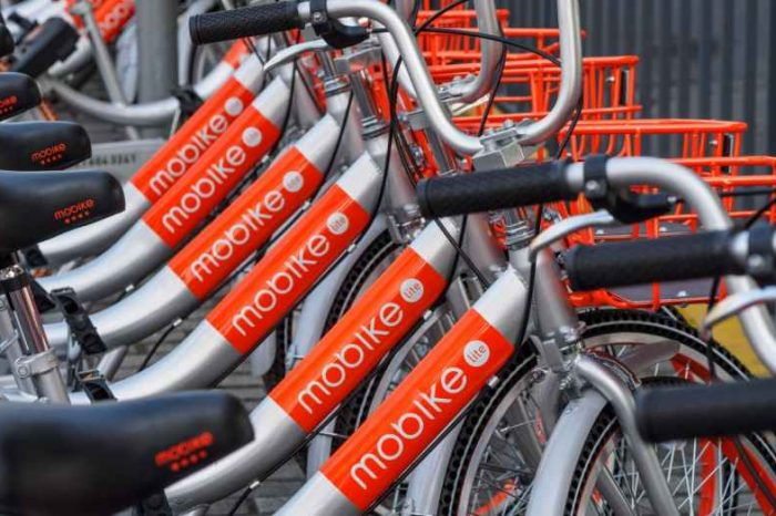 Bike sharing startup Mobike loses more than 200,000 dockless bikes to theft and vandalism in 2019