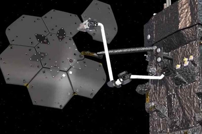 Maxar to work with NASA to demonstrate orbital manufacturing and spacecraft assembly with a new robotic arm