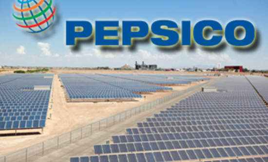 PepsiCo Plans to Achieve 100% Use of Renewable Energy In The U.S this year