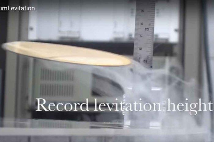 Quantum Levitation using Nanoparticle Superconductors and Liquid Nitrogen