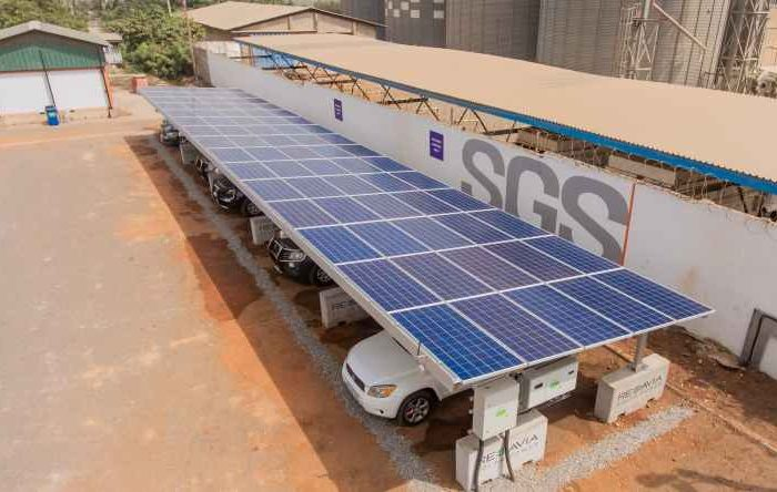 Sustainable energy startup REDAVIA launches modular solar carport