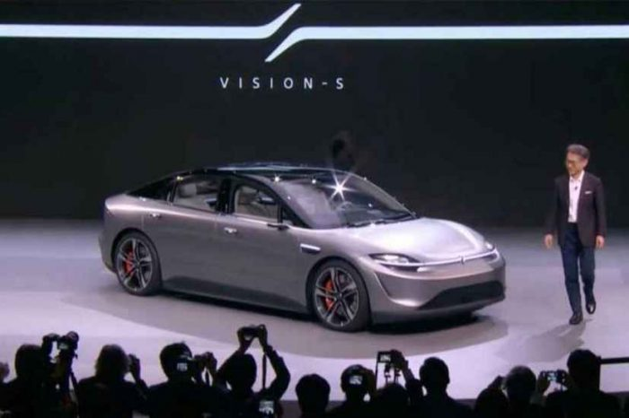 Sony surprises after unveiling electric concept car Vision-S at CES 2020