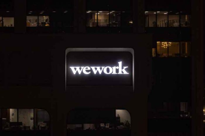 SoftBank values the embattled office-sharing startup WeWork at $2.9 billion, down from $47 billion a year ago
