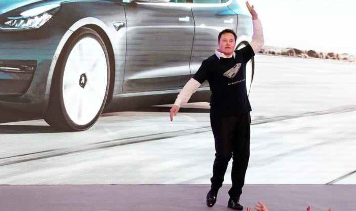 Tesla gains over $40 billion in market valueafter a better-than-expected strongfirst-quarter delivery of184,800 electric cars