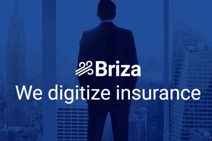 Insurtech startup Briza.io raises $3 million in funding to transform the $120 billion commercial insurance industry