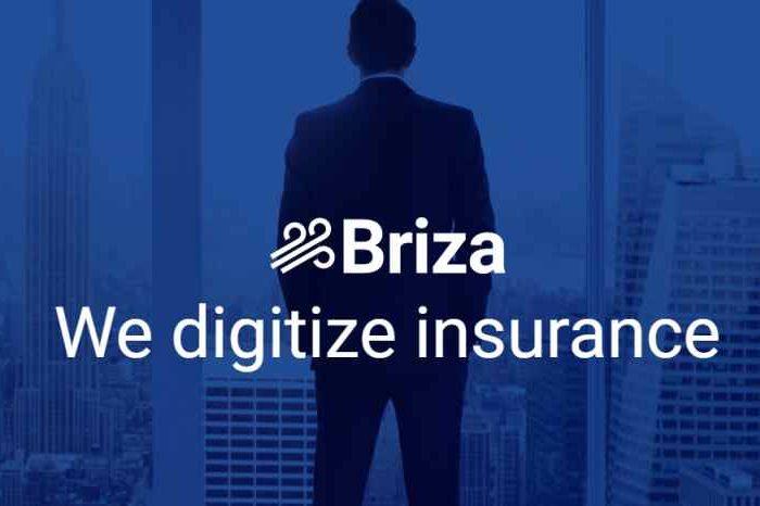 Insurtech startup Briza.io raises $3 million in funding to transform the $120 billion commercial insurance industry