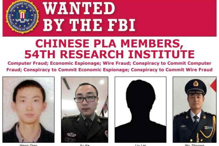 US Government charges 4 Chinese military spies with hacking the credit bureau Equifax