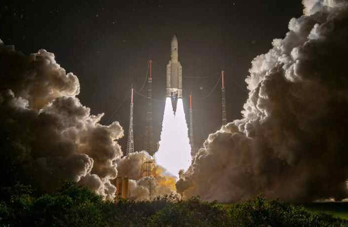 First Satellite in Global Air Quality Constellation Launches Aboard an Arianespace Ariane 5 Rocket