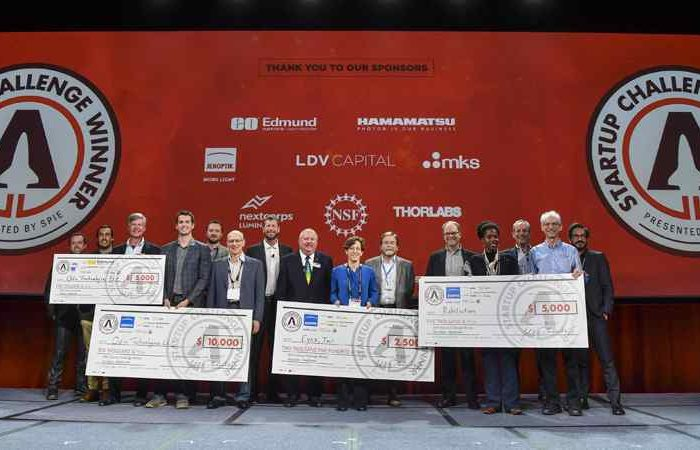 Wearable Diagnostics, Spectroscopic Systems Win Big at SPIE Photonics Startup Challenge