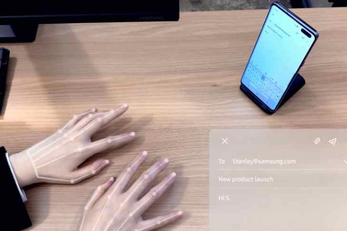 How AI ate the keyboard: Watch how Samsung's 'SelfieType' lets you type on an invisible keyboard