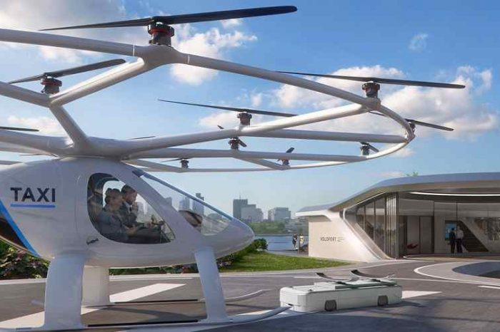 Flying taxi startup Volocopter extends its Series C to $94 million to usher in a new era of air taxi services