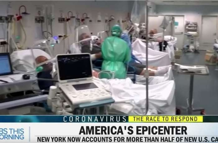 Coronavirus Panic: Media fear mongering and panic reached a new height after CBS News caught using footage from an Italian hospital to describe conditions in New York City