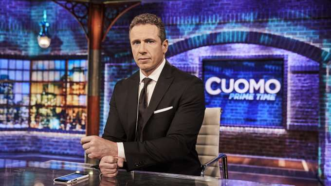CNN anchor Chris Cuomo says he tested positive for coronavirus