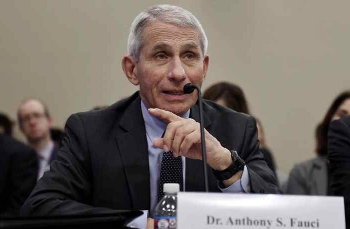 Between 100,000 and 200,000 people could die from coronavirus in the United States, Dr. Anthony Fauci said