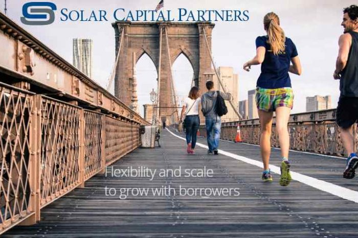 Solar Capital Partners closes on $525 million fund to invest in U.S. middle market companies