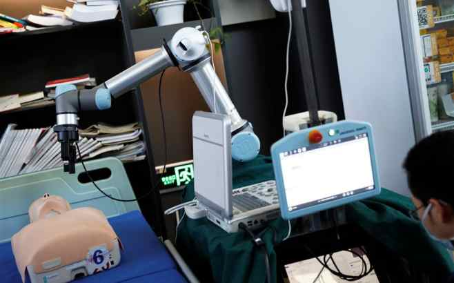 Chinese professor designs a 'coronavirus robot' that could save lives