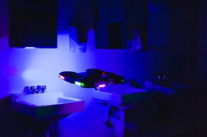 Autonomous tech startup Digital Aerolus develops the world's first indoor disinfection drone to fight coronavirus (COVID-19)
