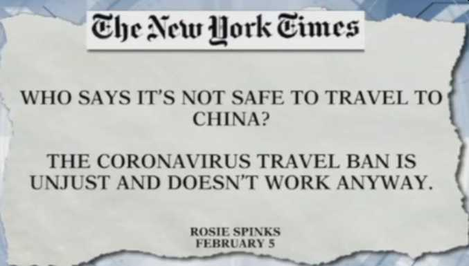 Coronavirus deaths in the United States: Should the media be held responsible for misleading the public about their early coverage of coronavirus?