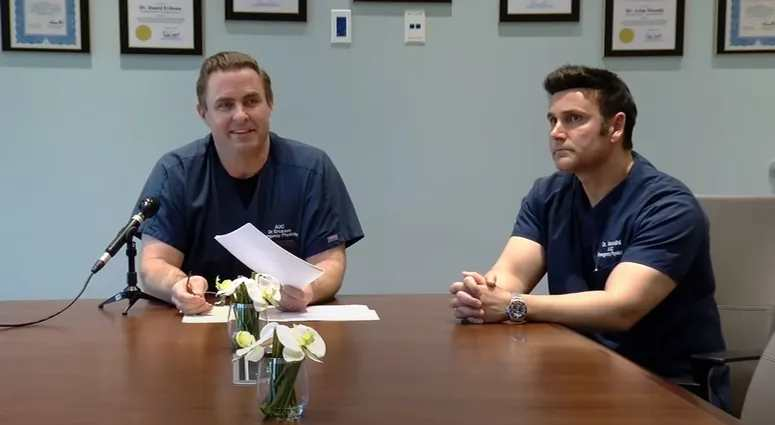 Two California Doctors, Dan Erickson and Artin Massihi, say ...