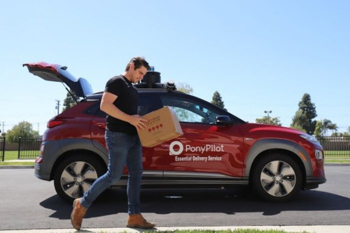 Robotics and driverless car startup Pony.ai launches autonomous deliveries in California as coronavirus lockdown continues