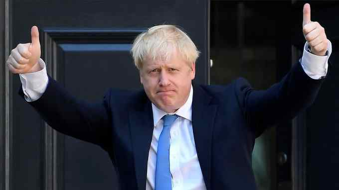 Great News: U.K. Prime Minister Boris Johnson's persistent high temperature, a key symptom of coronavirus, has fallen