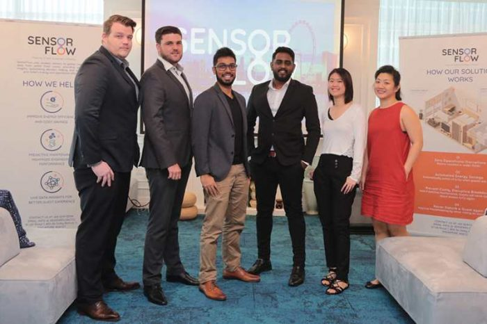 Singapore-based proptech startup SensorFlow scores $8.3M Series A+ funding to make smart energy-efficient hotels a reality