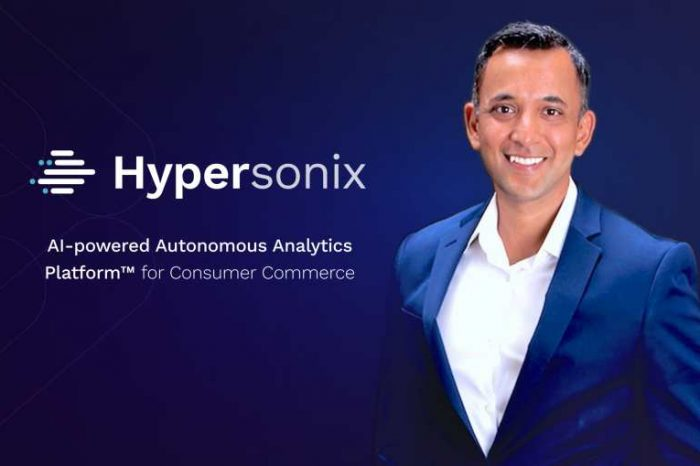 Hypersonix, a tech startup founded by former executives from SAP, PayPal, IBM, raises $11.5M in Series A funding led by Intel Capital for AI-driven autonomous analytics platform