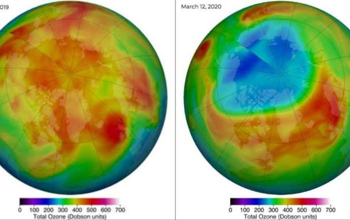 The largest Arctic ozone hole ever recorded is now closed, but it has nothing to do with Covid 19 lockdown