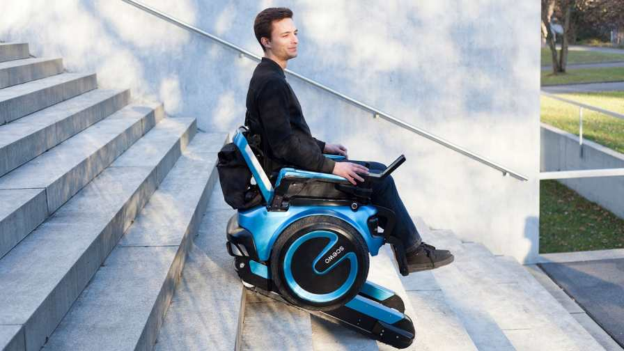 Swiss startup Scewo has developed an electric wheelchair that can climb up and down stairs unassisted | Tech News | Startups News
