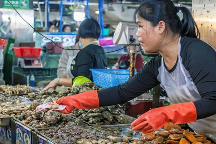China finds heavy traces ofcoronavirus in seafood, meat sections of Beijing food market. So, what happens when you ingest coronavirus through food?