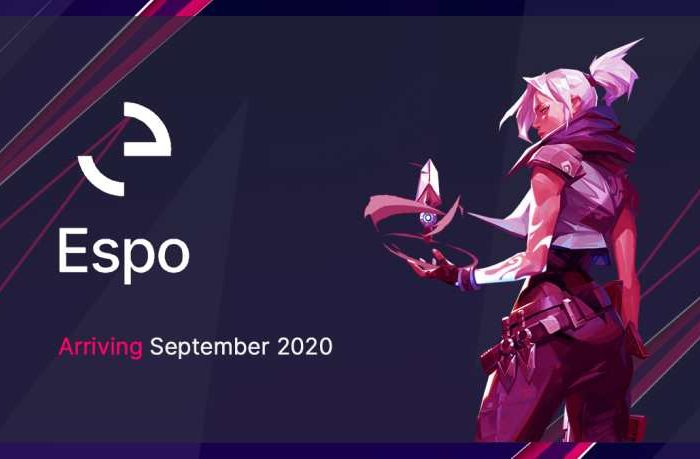 Espo announces official pre-launch of its eSports digital staking platform to provide a new way for esports fans, teams and sponsors to collaborate