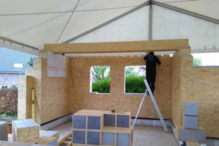 This Belgium startup is simplifying home construction with insulated building blocks for a self-build house project