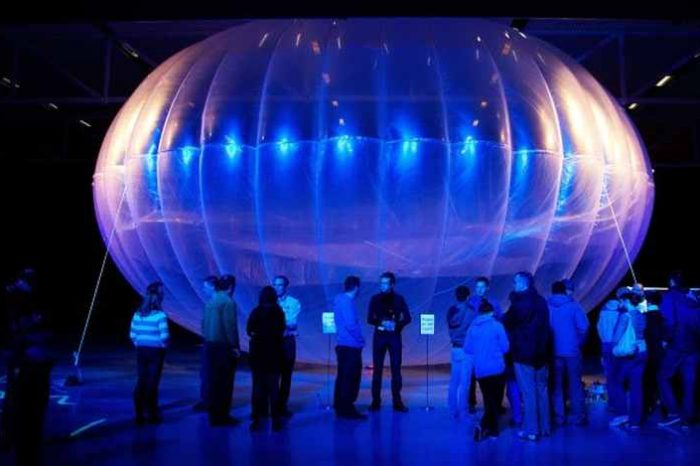 Google's Loon starts beaming internet from balloons in Kenya; covers over 30,000 square miles