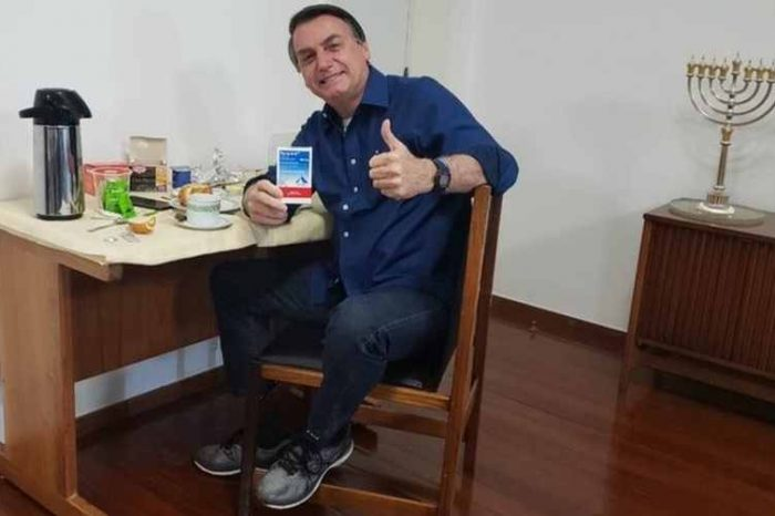 Brazilian President Bolsonaro tests Negative for COVID-19 less than 3 weeks after treatment with hydroxychloroquine