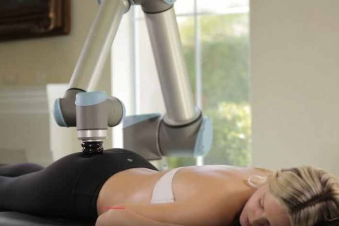 Would you trust this robot to give you a massage? Watch Alex, the robotic massage therapist, in action