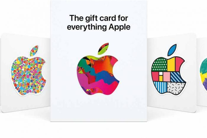 Apple Launches New Gift Card for 'Everything Apple'