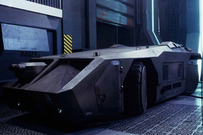 Elon Musk teases the new Tesla 'Cybertruck option package.' Likened it to the M577 armored vehicle used in the movie Alien