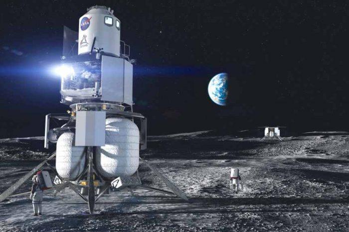 Blue Origin's Human Landing System (HLS) team delivered engineering mockup of its astronaut lunar lander to NASA