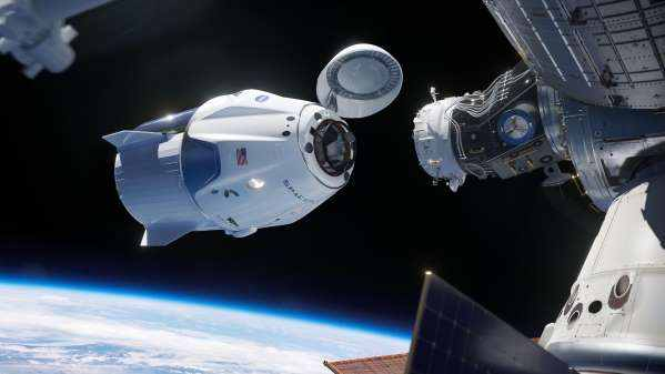 NASA astronauts return home in SpaceX's Crew Dragon Spacecraft; scheduled to arrive at 2:48 p.m. EDT on Sunday
