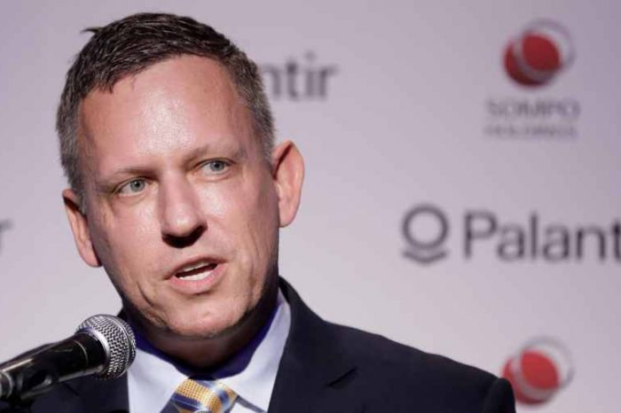 Peter Thiel-backed big data analytics startup Palantir files to go public; reported a loss of $580 million in 2019