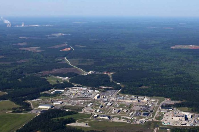 U.S. Government to pay the State of South Carolina $600 million in a settlement to remove 9.5 metric tons of weapons-grade plutonium stored at Savannah River Site