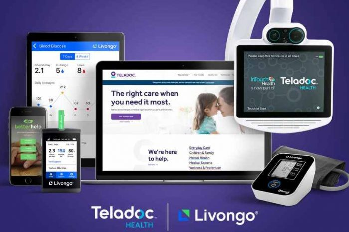 Virtual care provider Teladoc Health acquiresLivongo for$18.5 billion to help people everywhere get high quality and personalized healthcare