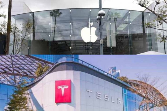 People are rushing to invest in Apple and Tesla after stock split; Tesla is now worth $0.44 trillion